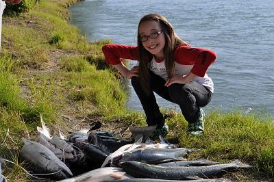 RENTAL CABINS U0026 FISHING. Red (sockeye) Salmon Fishing