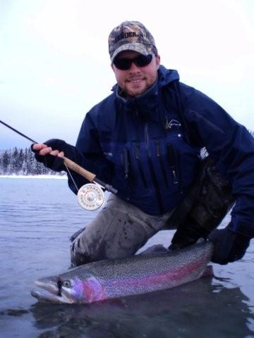 Trophy Rainbow Trout Fishing