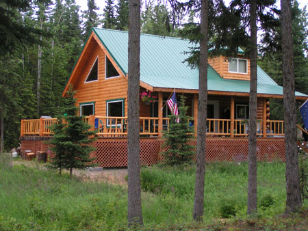 Kenai River Vacation Rental Cabins at Sterling, Alaska